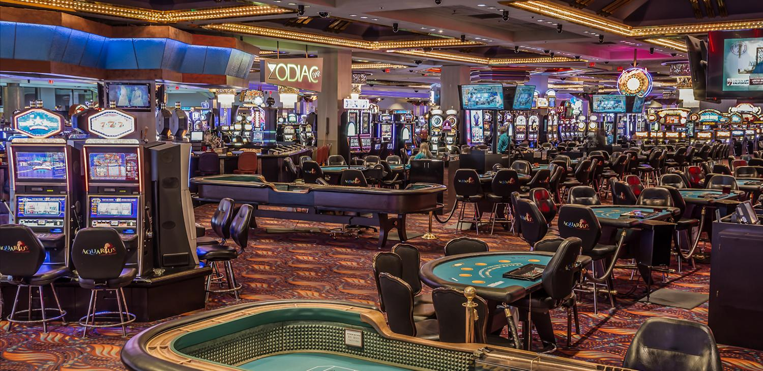 Table Games and Slot at Aquarius